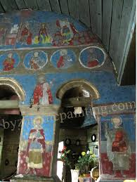 mural painting aesthetic modifications and restoration byzantine apart
