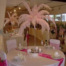 wedding supplies cheap 2016 new arrival diy ostrich feathers plume centerpiece for