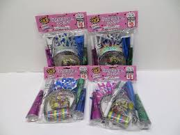 new years party packs lot of 4 tnt party time tickled pink party pack new years