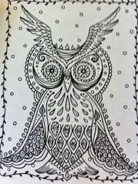 owls coloring book for you to have some fun and be the artist