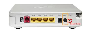 Dsl Light Blinking No Internet How To Reset Tm Streamyx Modem Or Router