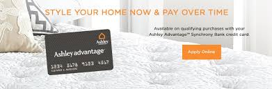 Home Decor Credit Cards by Ashley Advantage Online Financing Quick U0026 Easy Approval Ashley