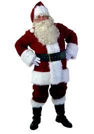 santa costume plus size premiere santa suit