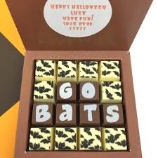 personalised message trick treat halloween chocolate by chocolate