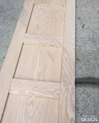 build it contemporary 4 panel barn door for 50