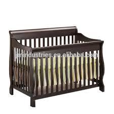 white baby sleigh cot crib in pine wood buy multi purposes baby