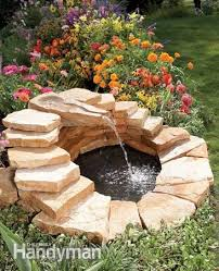 Waterfall Fountains For Backyard by Fountain How To Build A Concrete Fountain Outdoor Fountains