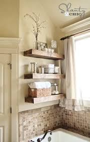 Decorate Bathroom Shelves Luxury Bathroom Shelf Decor For Space Saving Bathroom Shelves And