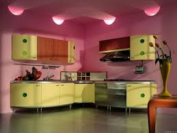 pink kitchen decorating ideas stainless steel countertops dark