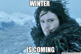Meme Creator Winter Is Coming - the only 10 things that should be on your office desk the pantry