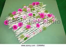 flower arrangement malvern autumn garden show worcestershire stock