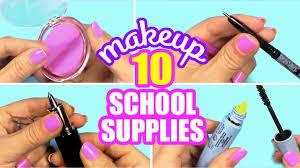 10 diy makeup supplies innova crafts youtube