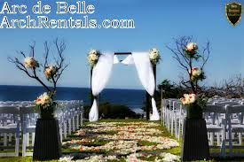 wedding arches los angeles arc de modern black wedding canopy arc de wedding