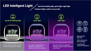 shop light for growing plants amazon com spigo indoor led light grow garden pearl white
