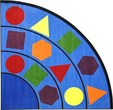Semi Circle Rugs Sitting Shapes Rug Jc1671xx Joy Carpets