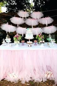 tutu baby shower decorations baby shower table cloth tablecloth decorations ideas pink and
