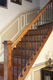 ideas wrought iron spindles for exciting stair railing material