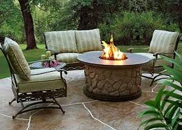 table patio design ideas with fire pits stunning patio fire