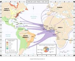 Gang Map Usa by Us Slave Trade America United States Slavery History Map