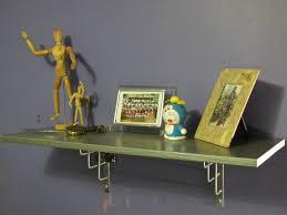 Skateboard Shelf A Silver Desk Before U0026 After