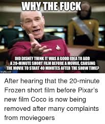 Frozen Movie Memes - why thefuck did disney think it was a good idea to add a 20 minute