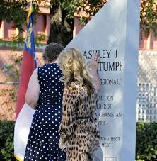 Ashley White by Nc National Guard Soldiers Honor Fallen Comrade With Memorial