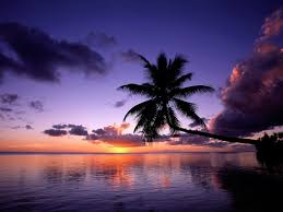 download 1280x960 tropical island beach scenery sunset wallpaper