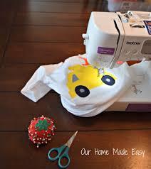 how to applique a t shirt our home made easy