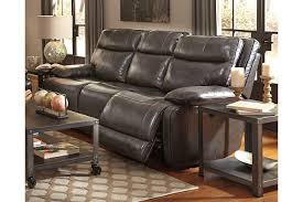 ashley leather sofa set amazing palladum reclining sofa ashley furniture homestore in