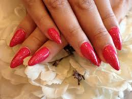 stiletto nails with gel polish2 nail designs for you
