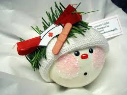 medically trained snowmen snowmen ornaments