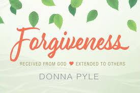 forgiveness received from god extended to others