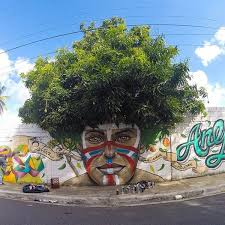 5 awesome graffitrees graffiti with actual trees neatorama