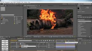 Displacement Map After Effects Ae Using Displacement Map And Create Heat Waves Youtube
