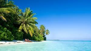 blue sky in the beach of mauritius wallpaper wallpaper studio 10