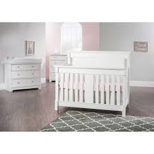 How To Convert 3 In 1 Crib To Toddler Bed by Springfield 3 Piece Convertible Crib Set White