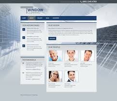 website template 45319 windows cleaning custom website template
