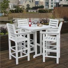 Patio Bistro Table by Patio High Top Bistro Sets Home Design Photo Gallery