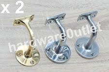 Handrail Brackets Chrome Brass Handrail Brackets Diy Materials Ebay
