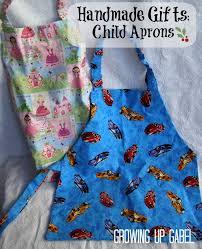 handmade christmas gifts child apron