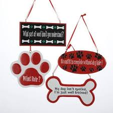 buy club pack of 12 funny dog phrase paw print and bone christmas