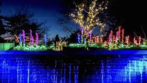 Botanical Garden Bellevue Garden Delights With Half Million Dazzling Lights In Bellevue
