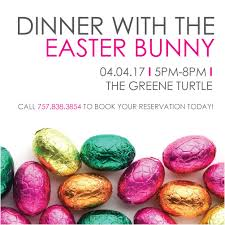 easter bunny book dinner with the easter bunny peninsula town center