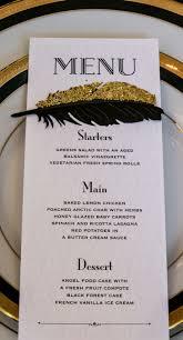 id e menu mariage 8 idées en or et noir pour décorer votre mariage mariage