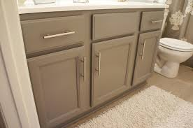 painting bathroom cabinets brown with ideas gallery 119870 quamoc