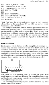 bbc micro music masterclass interfacing and peripherals