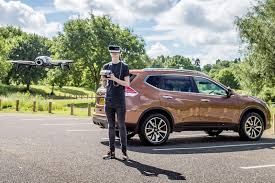 does it work nissan x trail x scape drone tested by car magazine