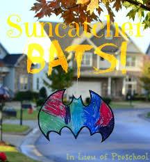 Halloween Craft Kids - suncatcher bats a kid u0027s halloween craft for indoors or out u2013 in