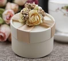 wedding gift boxes aliexpress buy wedding candy boxes with ribbon and