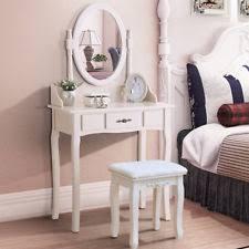 Silver Vanity Table Vanity Set With Mirror Luxury Silver Makeup Stool Dressing Table